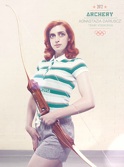 Surrealist London Olympics posters by Oli Kellett — Lost At E Minor: For creative people