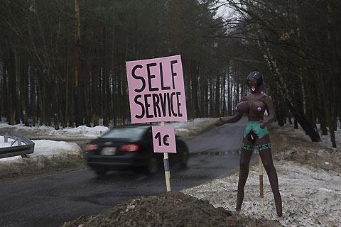 Roadside self-service blow up dolls in Poland — Lost At E Minor: For creative people