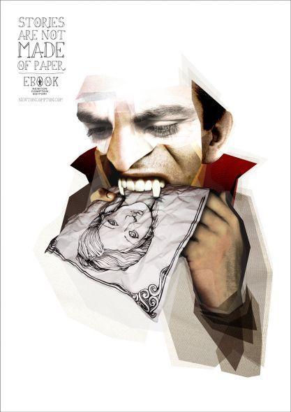 E-book Newton Compton Publishing: Dracula | Ads of the World™