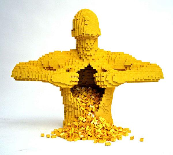 20 Incredible LEGO Artworks by Nathan Sawaya | Bored Panda