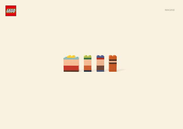 Imagine: Minimalist Lego Cartoon Characters | Bored Panda