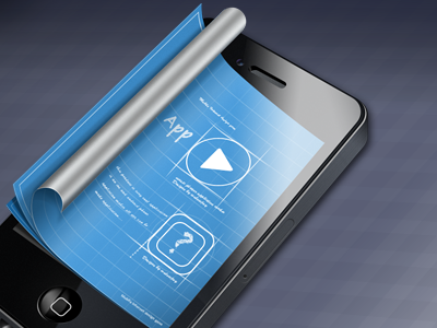 App design for iphone by wulowjay