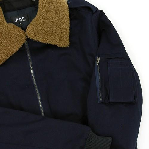 A.P.C. Biker Bomber Jacket discount sale voucher promotion code | fashionstealer