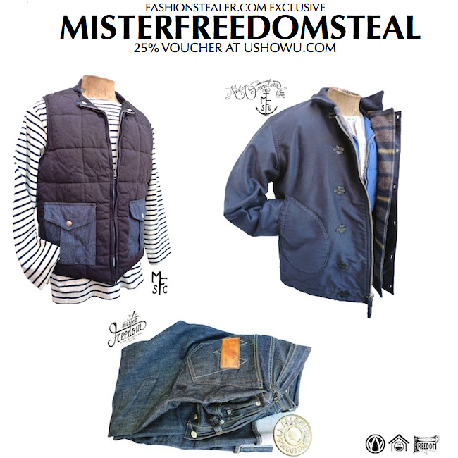 Mister Freedom collection aw10 discount sale voucher promotion code | fashionstealer