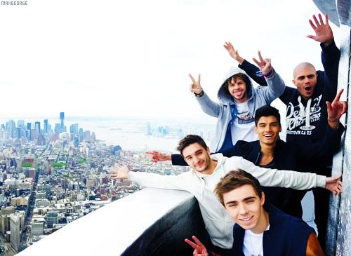 The Wanted down under