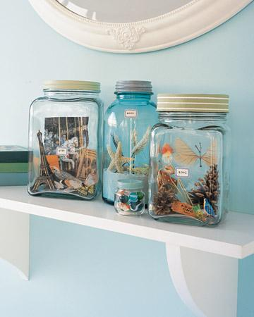 Vacation Memory Jars - Martha Stewart Scrapbooking & Memorykeeping