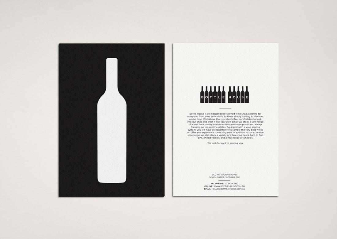 Hunt Studio | Multi-disciplinary design studio | Melbourne — Bottle House Identity