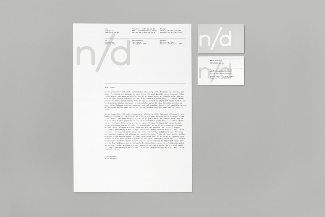 Hunt Studio | Multi-disciplinary design studio | Melbourne — Nice Device Identity