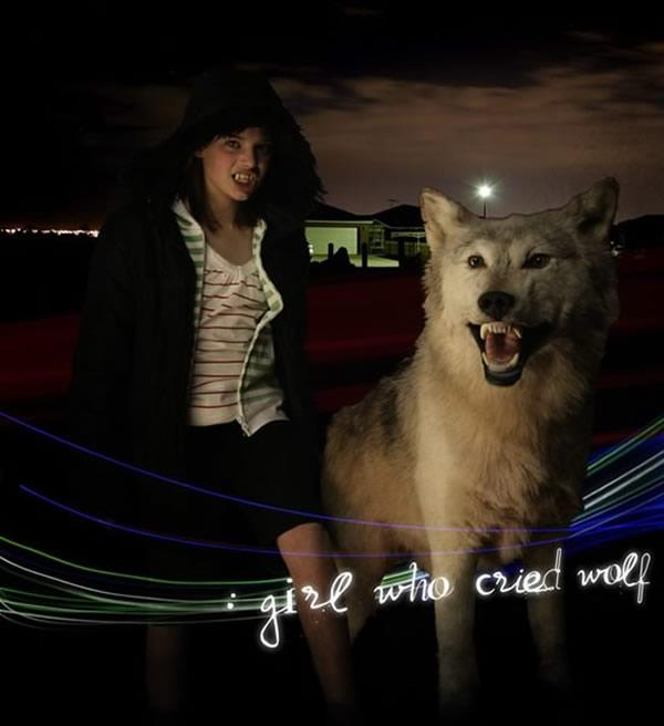 Girl Who Cried Wolf | nice device by pete brundle. web development | interaction design and code, melbourne australia