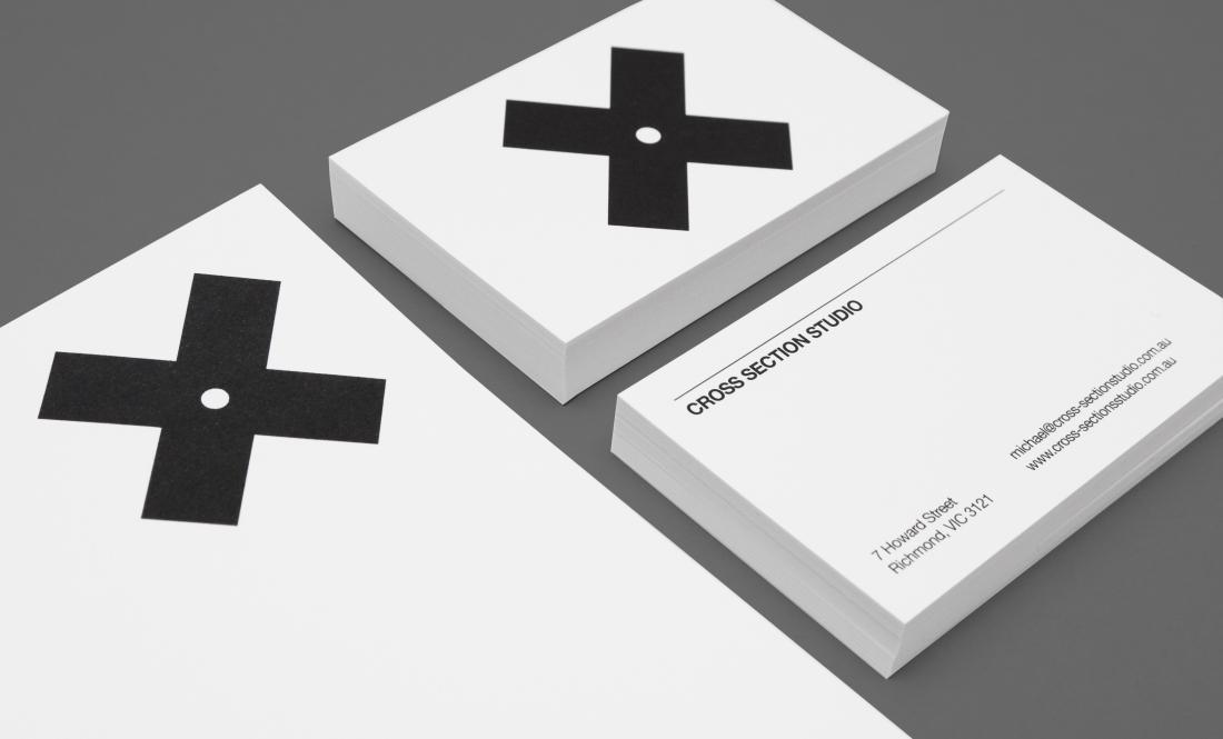 Hunt Studio | Multi-disciplinary design studio | Melbourne — Cross Section Studio Identity