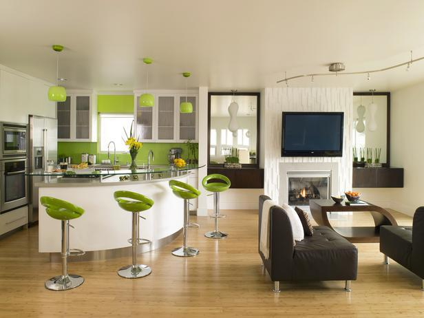 10 Kitchens That Pop With Color : Kitchen Remodeling : HGTV ...