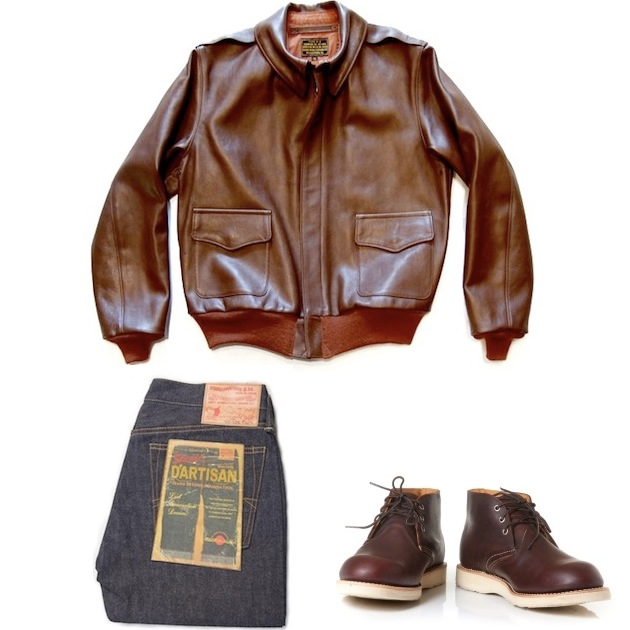 Eastman Leather Jackets | Red Wing Chukka Brown | Studio D´artisan Jeans discount sale voucher promotion code | fashionstealer
