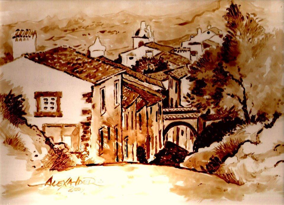 Fotos do mural