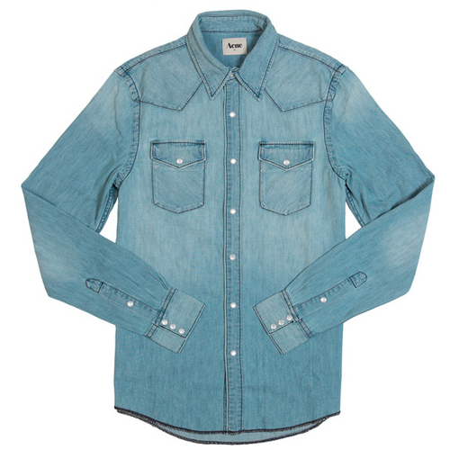 ACNE TEXAS SHIRT discount sale voucher promotion code | fashionstealer