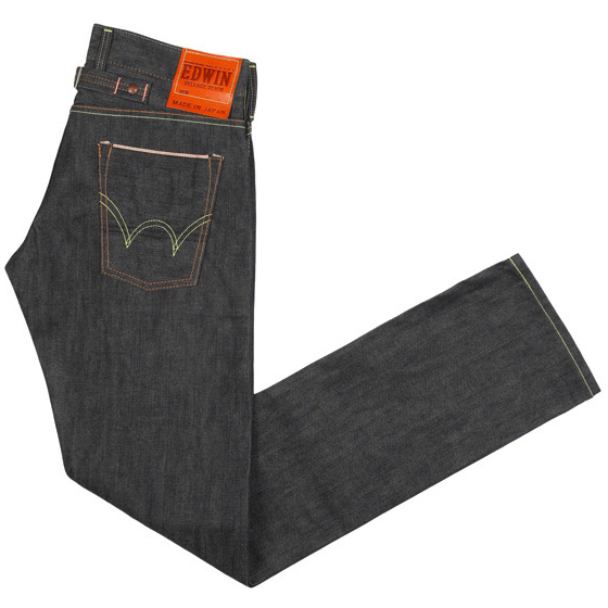 EDWIN SEN SELVAGE GREY RAW UNWASHED JEANS discount sale voucher promotion code | fashionstealer