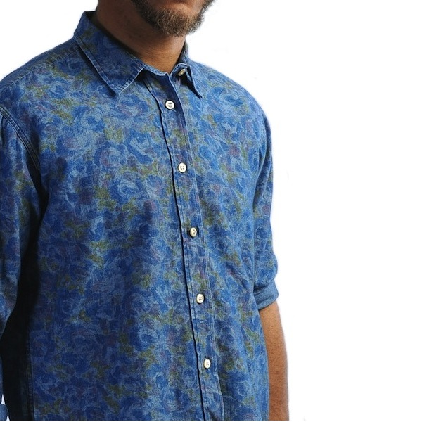 OUR LEGACY FLORAL CAMO SHIRT discount sale voucher promotion code | fashionstealer