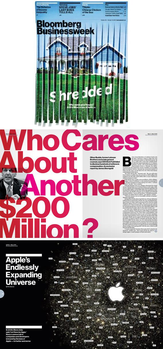 Bloomberg Businessweek - Editorial Design - Creattica