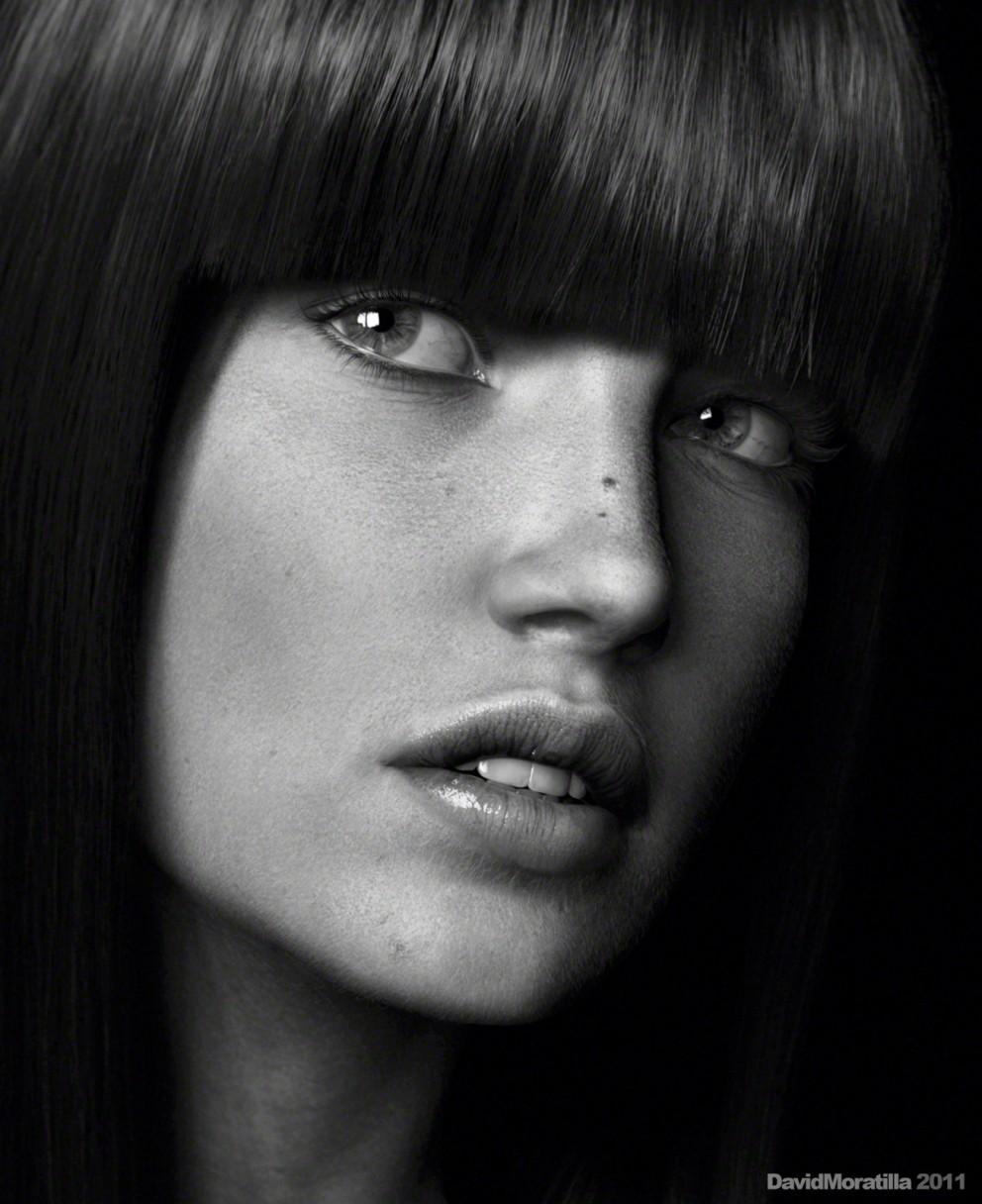 3D Rendering: Close Up Portraits - 3D, Maya, Portrait