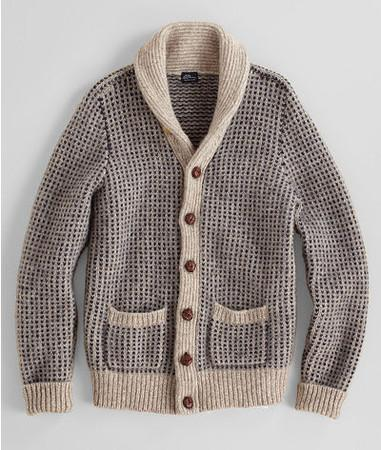 L.L.Bean SIGNATURE  Matinicus Rock Cardigan
