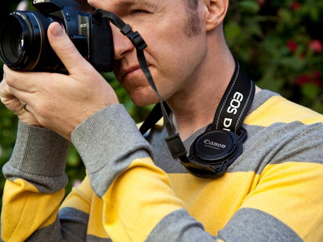 Never Lose A Lens Cap Again: The Lens Cap Strap Holder