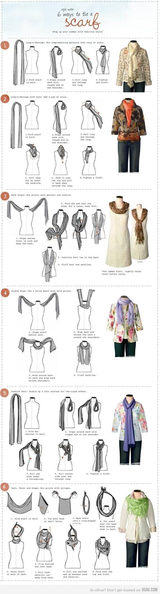fashion / Tis the season to throw on a scarf.