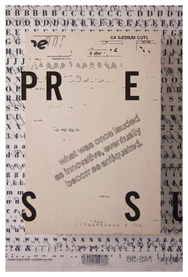 Tom Davie | 2011 Typographic Posters