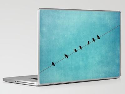 pretty little birds Laptop & iPad Skin by Beverly LeFevre | Society6