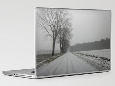 The road to snowhere Laptop & iPad Skin by Art De L'aube | Society6