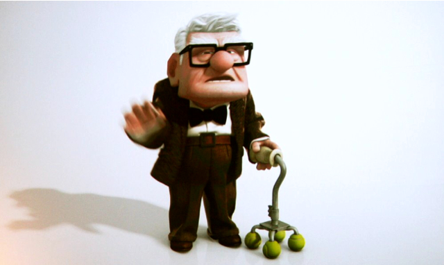 Cooked Art: 'Up' Character Design