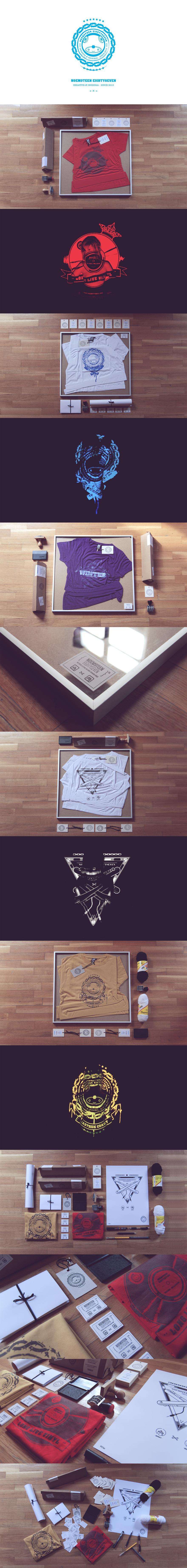 Noem9teen Eightyseven Branding - Tshirt Design - Creattica