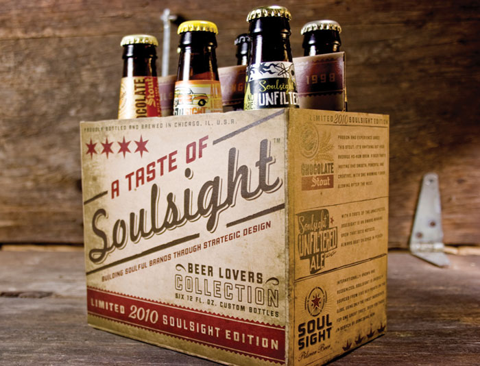 Designer Promotion: A Taste of Soulsight - TheDieline.com - Package Design Blog