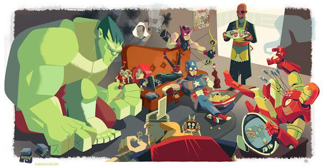 The Autumn Society: Avengers Assemble at Gallery 1988
