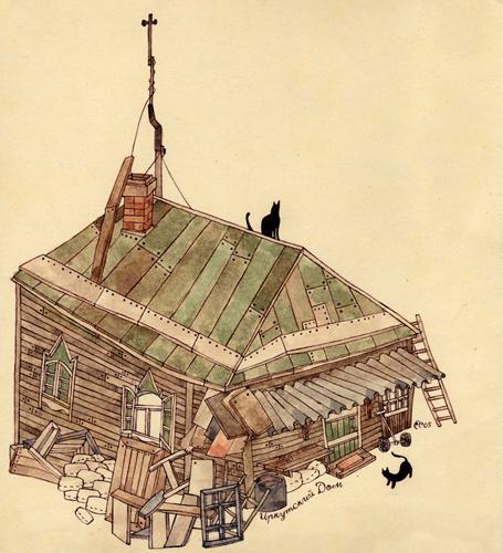 Carson Ellis | Portfolio | Irkutsky Dom