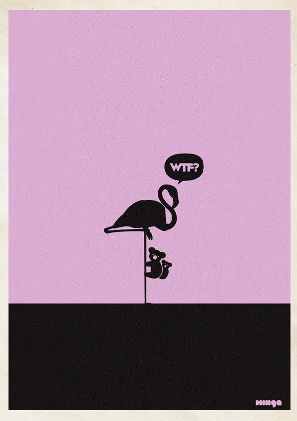 Cleverly Hilarious WTF Posters By Estudio Minga | inspirationfeed.com
