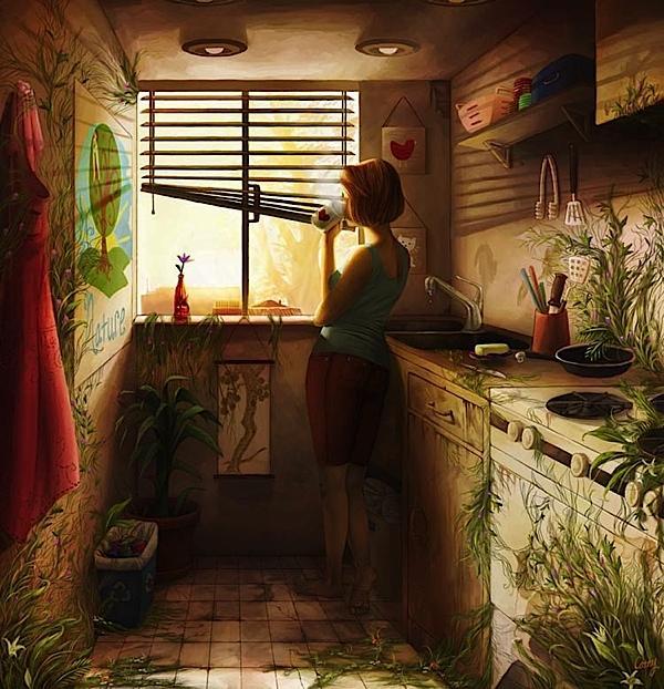 Stunning Digital Paintings | Abduzeedo | Graphic Design Inspiration and Photoshop Tutorials