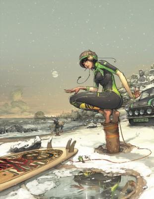 Folio - Illustration Agency | Gez Fry - Winter - DCA
