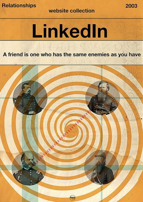 Retro/ Vintage Social Media Propoganda Posters | blurppy