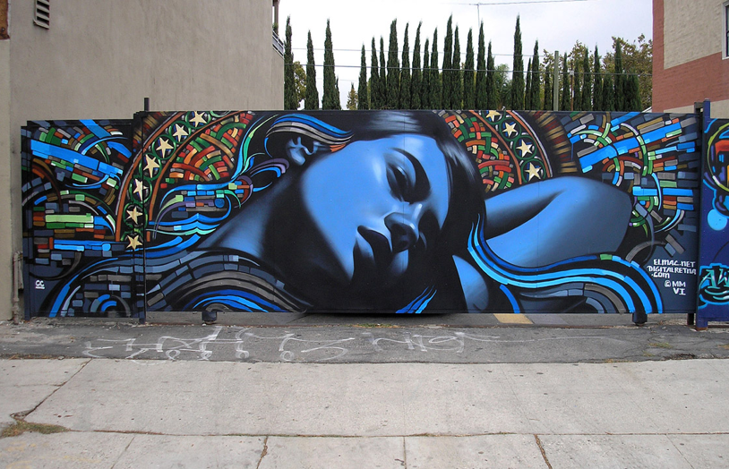Marvelous Mural Art by El Mac and Retna | Abduzeedo | Graphic Design Inspiration and Photoshop Tutorials