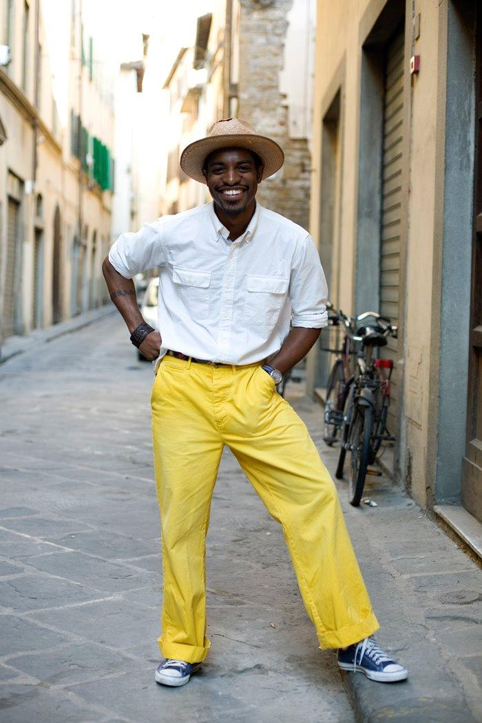 On the Street…Andre Benjamin, Florence « The Sartorialist