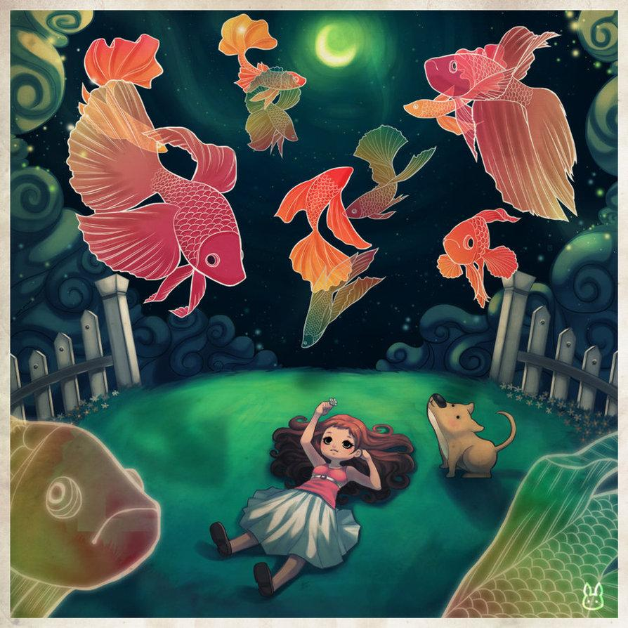 Betta Dreams by ~jennduong