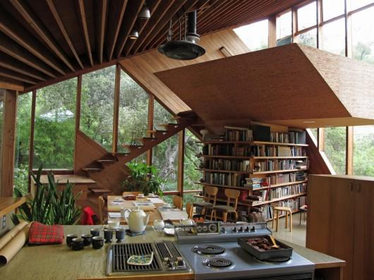 Walstrom House by John Lautner | WANKEN - The Art & Design blog of Shelby White