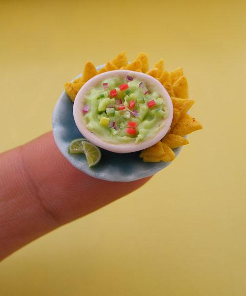 Miniature food sculptures by Shay Aaron — Lost At E Minor: For creative people