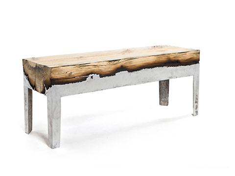 Wood and aluminum furniture by Hilla Shamia — Lost At E Minor: For creative people