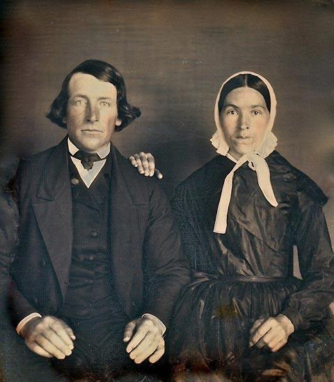 Portrait photos of Victorian husbands and wives — Lost At E Minor: For creative people