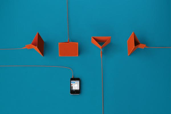 FYLM - Foldable Speaker by designaffairs » Yanko Design