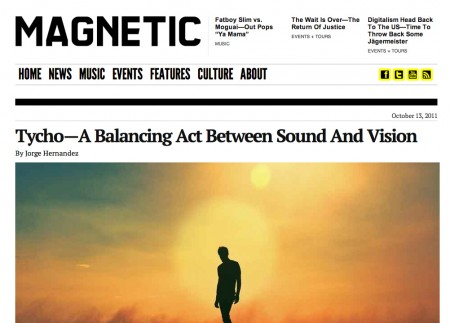 Magnetic Magazine Interview » ISO50 Blog – The Blog of Scott Hansen (Tycho / ISO50)