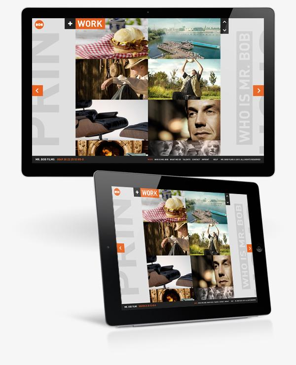 Interaction Design / M. Bob Films sur le réseau