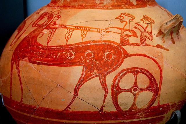 Chariot Krater - Mycenae | Flickr: partage de photos!