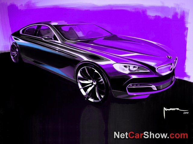 BMW 6-Series Gran Coupe wallpaper # 249 of 255, Design Sketches, MY 2013, 800x600