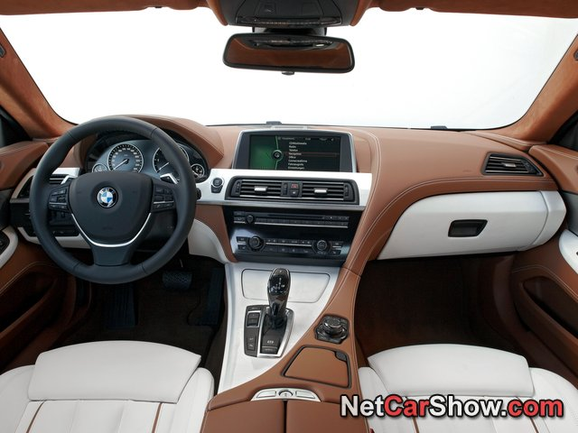 BMW 6-Series Gran Coupe wallpaper # 181 of 255, Interior, MY 2013, 800x600